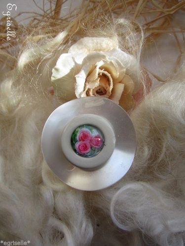 "♫ ""Astre, Fleur en Corolle"" ♫ BAGUE de CREATION Artisanale ♫"
