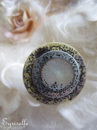 "♫ ""Astre, Commette Florale"" ♫ BAGUE de CREATION Artisanale ♫"