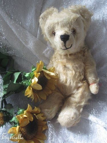 "♫ PELUCHE Vieil OURS ""BelOurs"", Teddy Bear Antique, COLLECTION d'OURS Anciens ♫"