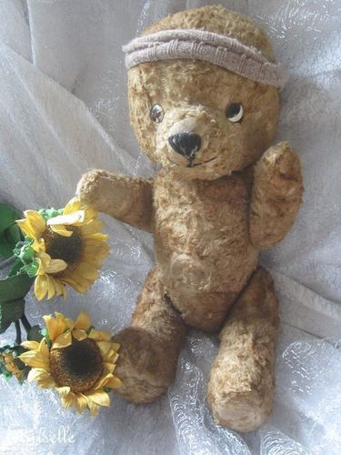 "♫ PELUCHE Vieil OURS ""Tro'ToP"", Teddy Bear Antique, COLLECTION d'OURS Anciens ♫"