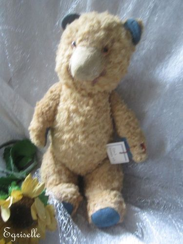 "♫ PELUCHE Vieil OURS ""Vieil'O"", Teddy Bear Antique, COLLECTION d'OURS Anciens ♫"